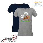 "T-shirt damski Cartoon ""Kałuża"""