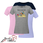"T-shirt damski Cartoon ""Western"""
