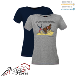 T-shirt damski Cartoon Blaski